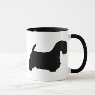 Engranaje de Sealyham Terrier Taza
