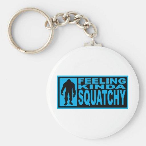 Engranaje de Squatchy de la sensación - encontrar  Llaveros