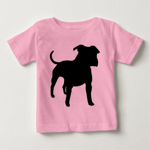 Engranaje de Staffordshire Terrier americano Camisas