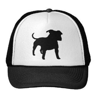 Engranaje de Staffordshire Terrier americano Gorros Bordados