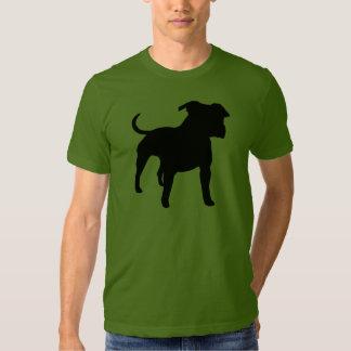 Engranaje de Staffordshire Terrier americano Polera