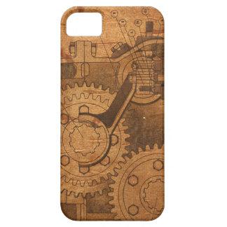 Engranaje de Steampunk iPhone 5 Carcasa