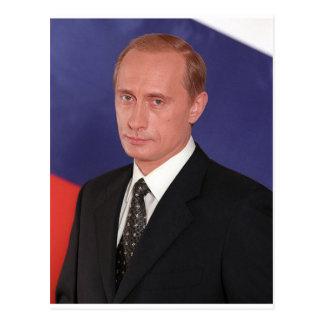 Engranaje de Vladimir Putin Postales