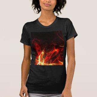 Engranaje del arte abstracto del fractal del camiseta