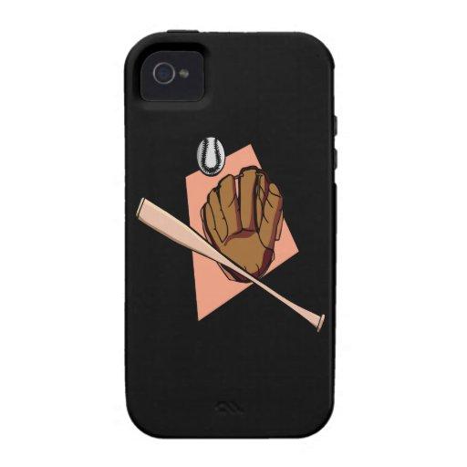 Engranaje del béisbol Case-Mate iPhone 4 carcasa