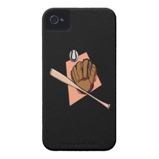 Engranaje del béisbol iPhone 4 funda