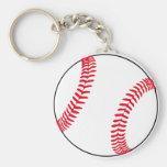 Engranaje del béisbol llaveros personalizados