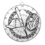 Engranaje del béisbol tablero de dardos