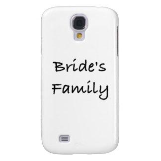 engranaje del boda de la familia de la novia