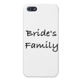 engranaje del boda de la familia de la novia iPhone 5 protector