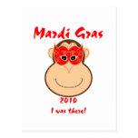 Engranaje del carnaval del mono: Camisetas y tazas Postal