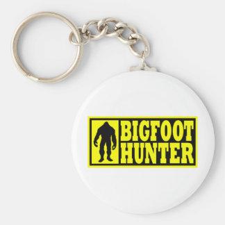 Engranaje del cazador de Bigfoot - encontrar Bigfo Llavero Redondo Tipo Pin