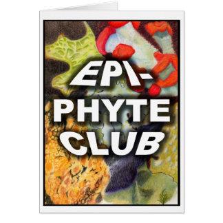 Engranaje del club de Epiphyte Tarjeta De Felicitación