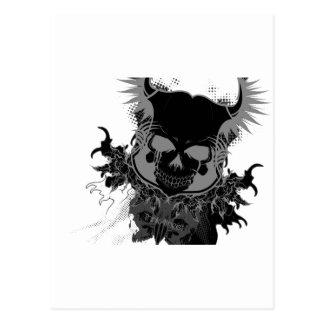 Engranaje del cráneo postal