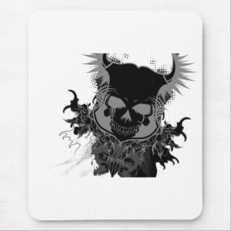 Engranaje del cráneo tapetes de raton