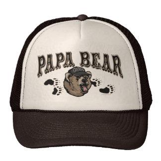 Engranaje del día de padre del oso de la papá gorra