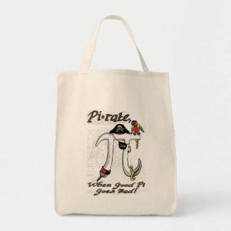 Engranaje del día del pirata pi bolsa