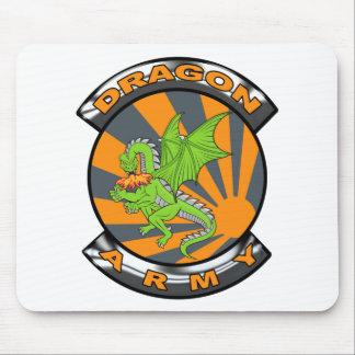 Engranaje del ejército del dragón tapete de ratones