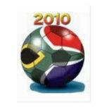 Engranaje del equipo de fútbol postales