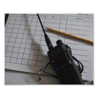Engranaje del equipo de radio-aficionado cojinete