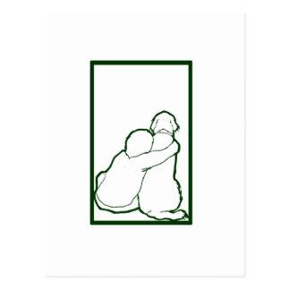 Engranaje del fondo de Aidan Tarjeta Postal