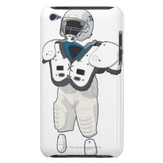 Engranaje del fútbol americano iPod touch Case-Mate coberturas