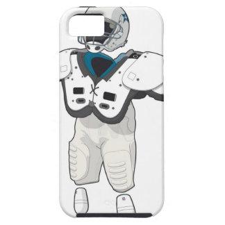 Engranaje del fútbol americano iPhone 5 Case-Mate protectores