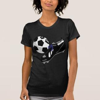 Engranaje del fútbol camiseta