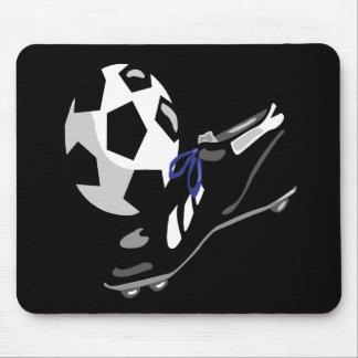 Engranaje del fútbol alfombrilla de ratones