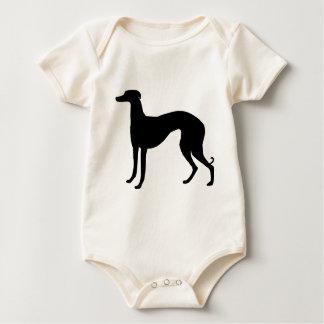 Engranaje del galgo italiano trajes de bebé