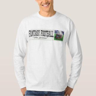 Engranaje del genio del fútbol de la fantasía poleras