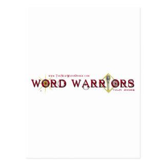 Engranaje del guerrero de la palabra postal