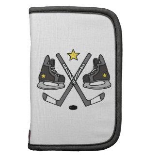 Engranaje del hockey sobre hielo planificadores
