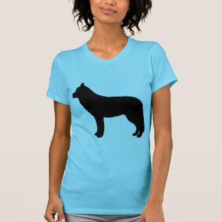 Engranaje del husky siberiano camiseta