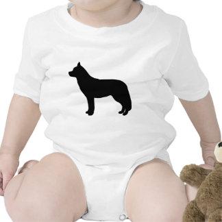 Engranaje del husky siberiano trajes de bebé