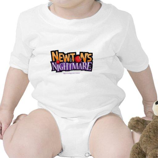 Engranaje del juego de la física de la pesadilla d trajes de bebé