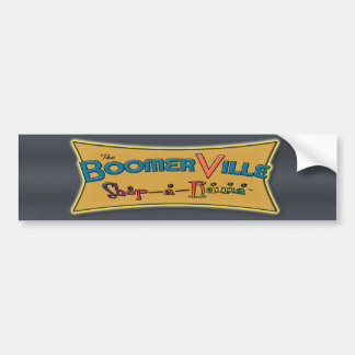 Engranaje del logotipo de la Tienda-uno-Rama de Bo Pegatina Para Auto