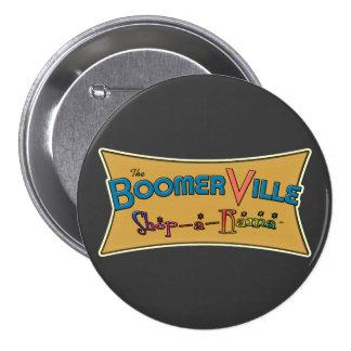 Engranaje del logotipo de la Tienda-uno-Rama de Bo Pin Redondo 7 Cm