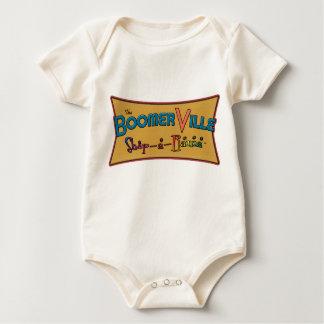 Engranaje del logotipo de la Tienda-uno-Rama de Trajes De Bebé