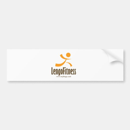 Engranaje del logotipo de Lengo Pegatina De Parachoque