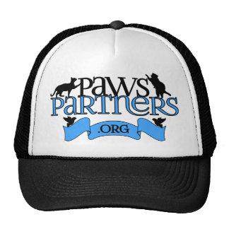 engranaje del logotipo de PawsPartners org Allianc Gorro De Camionero