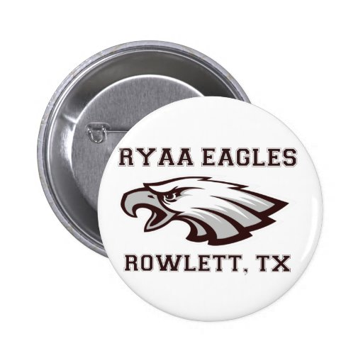 Engranaje del logotipo de RYAA Pin Redondo 5 Cm