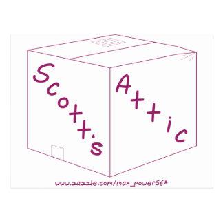 Engranaje del logotipo del ático de Scott Postal