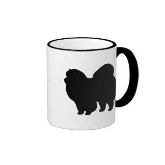 Engranaje del perro chino de perro chino tazas de café