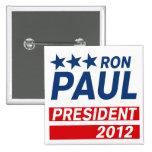 Engranaje del presidente 2012 campaña de Ron Paul Pin