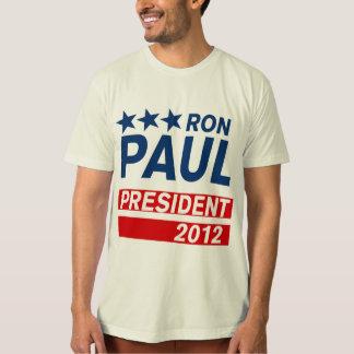 Engranaje del presidente 2012 campaña de Ron Paul Poleras