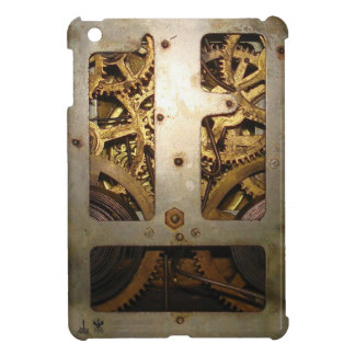 Engranaje del reloj del vintage iPad mini fundas