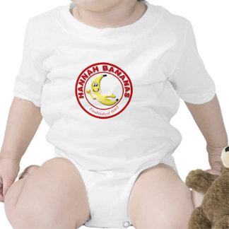 Engranaje del restaurante de los plátanos de trajes de bebé