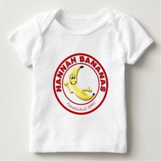 Engranaje del restaurante de los plátanos de playera de bebé