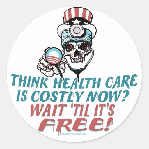 Engranaje del susto de la salud de Obama por Etiqueta Redonda
